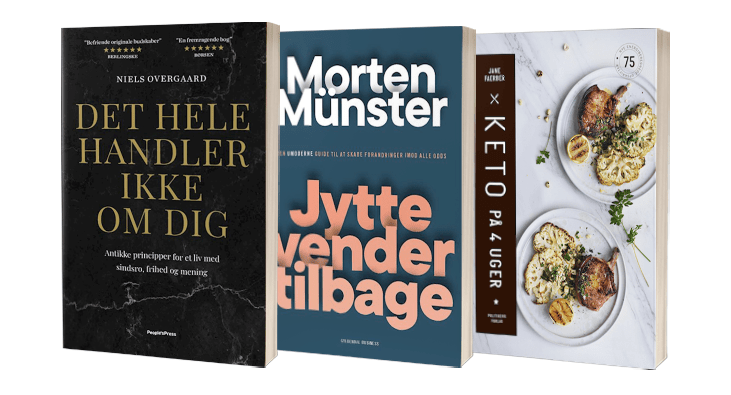 Udvalg af bøger