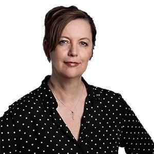 Katrine Marie Guldager som månedens forfatter