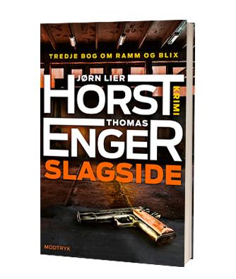 Slagside' af Jørn Lier Horst og Thomas Enger - 3. bog i serien
