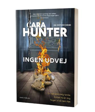 'Ingen udvej' af Cara Hunter - 3. bog i serien