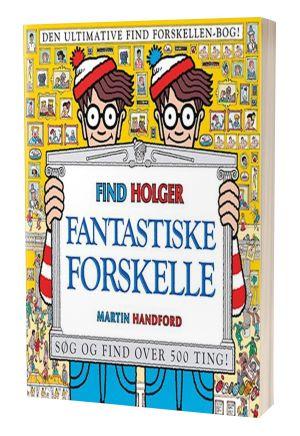 'Fantastiske forskelle - Find Holger' af Martin Handford