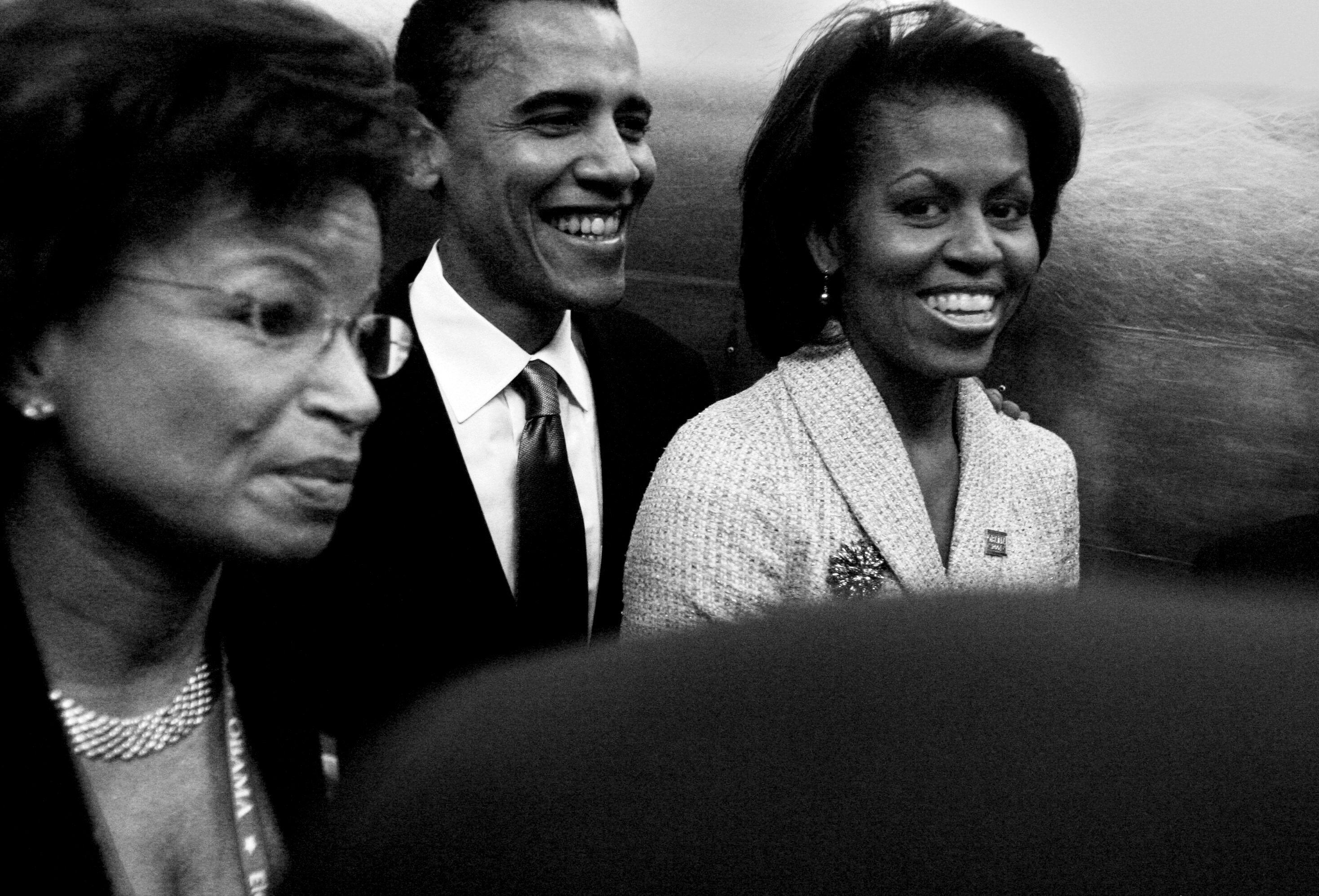 Michelle og Barack Obama