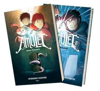 'Amulet'-serien af Kazu Kibuishi