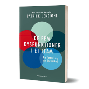 'De fem dysfunktioner i et team' af Patrick Lencioni