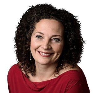 Anne-Cathrine Riebnitzsky som månedens forfatter