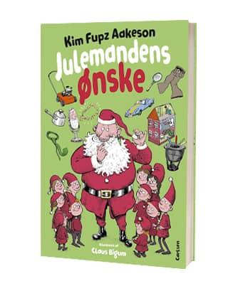 'Julemandens ønske' af Kim Fupz Aakeson