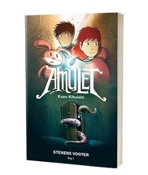 'Amulet - Stenens vogter' af Kazu Kibuishi