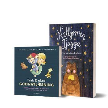 'Tryk og glad godnatlæsning' og 'Natbjørnen Tjugga'