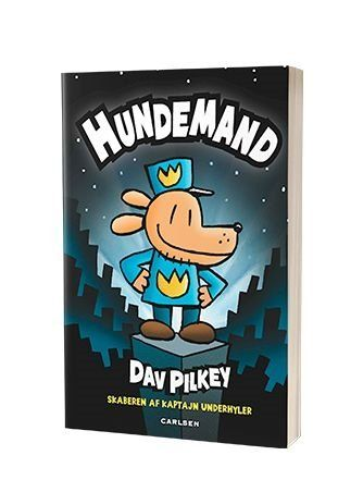 'Hundemand' af Dav Pilkey