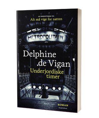 Lise læser 'Underjordiske timer' af Delphine de Vigan