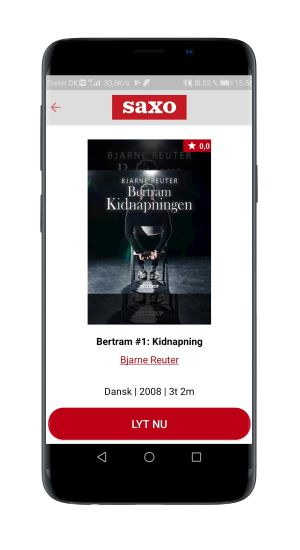Thomas Korsgaard og Frida Brygmann anbefaler 'Bertram - Kidnapning' af Bjarne Reuter