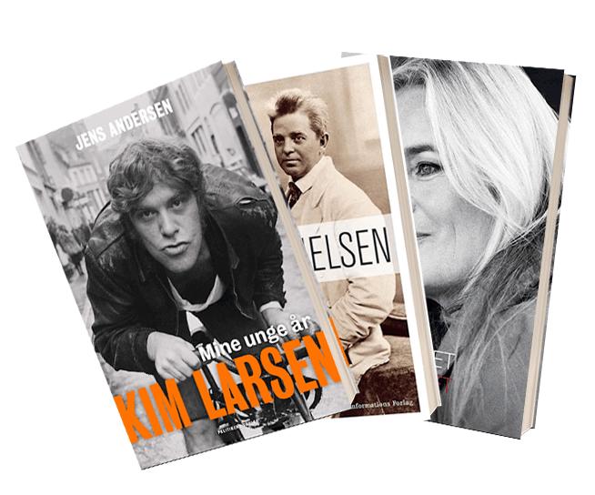 Bøger om danske musikere
