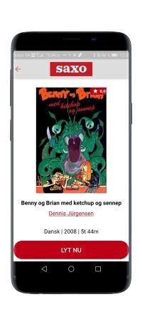 'Benny og Brian med ketchup og sennep' lydbog af Dennis Jurgensen