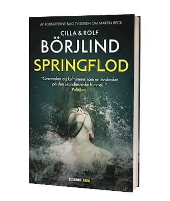 'Springflod' af Cilla og Rolf Börjlind - 1. bog i Rönning Stilton-serien
