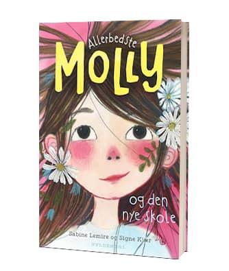 'Allerbedste Molly - og den nye skole' - første bog i Allerbedste Molly-serien