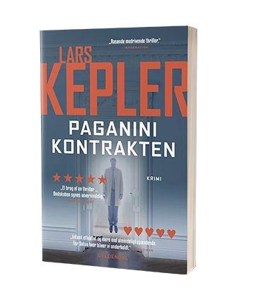 'Paganinikontrakten' af Lars Kepler