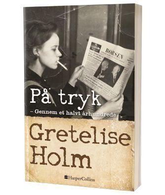 'På tryk' af Gretelise Holm
