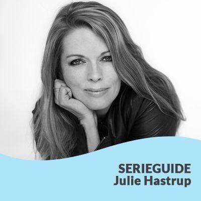 Guide til rækkefølgen på Julie Hastrups bøger