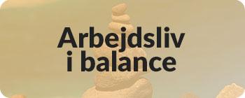Arbejdsliv i balance