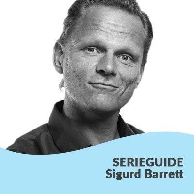 Sigurd Barrets bøger i rækkefølge