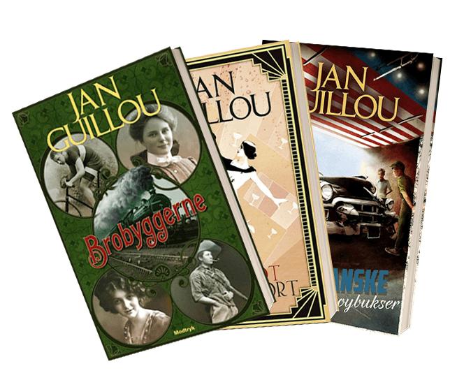 Bøger af Jan Guillou