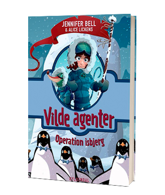 'Vilde agenter - Operation isbjerg' af Jennifer Bell - 2. bog i serien