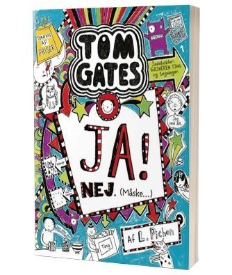 'Tom Gates - Ja! Nej. (Måske)' af Liz Pichon