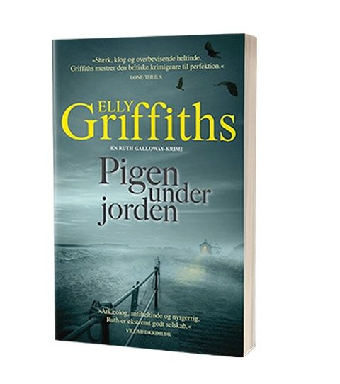 'Pigen under jorden' af Elly Griffiths