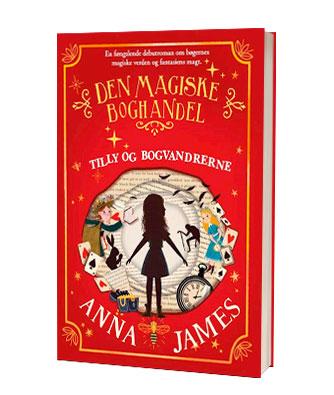 'Den magiske boghandel - Tilly og bogvandrerne' - find bogen hos Saxo