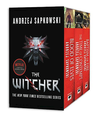 Bogen 'The Witcher Boxed Set: Blood of Elves, the Time of Contempt, Baptism of Fire' af Andrzej Sapkowski, A WITCHER BOXED SET BLOOD OF ELV