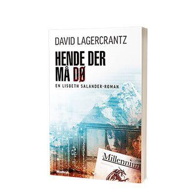Bogen 'Hende der maa doe' af David Lagercrantz