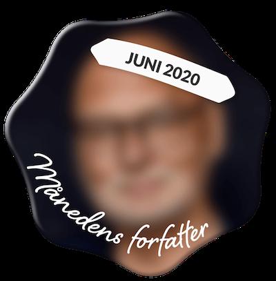 Leif Davidsen som månedens forfatter i juni 2020