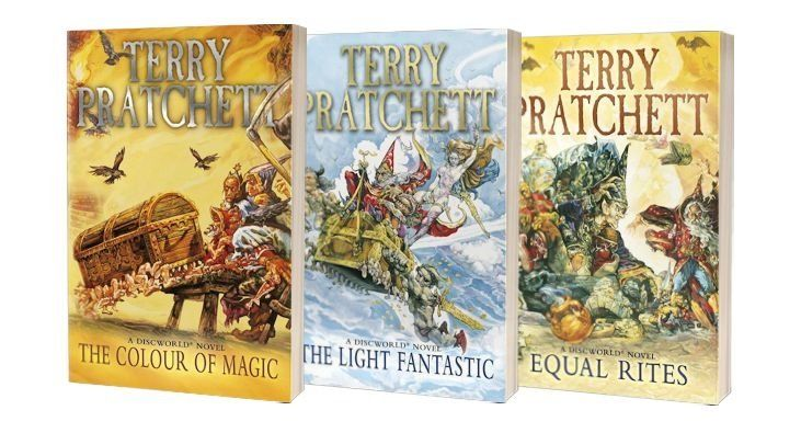 Terry Pratchett-bøger