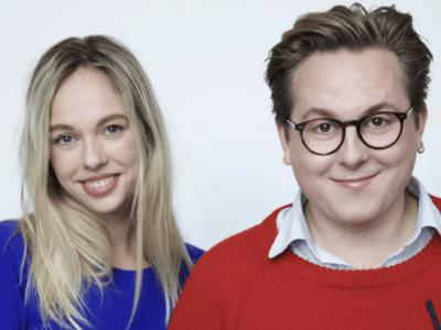 Thomas Korsgaard og Frida Brygmann