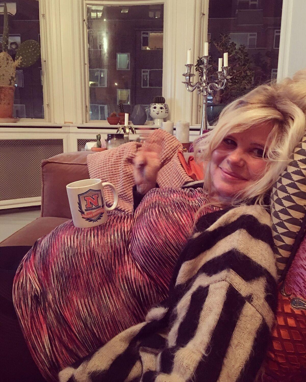 Sofie Linde - foto fra 'Fårking gravid'