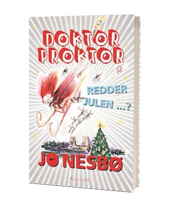 'Doktor Proktor redder julen ...?' af Jo Nesbø - 6. bog i serien