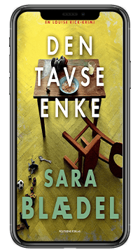 Bogen 'Den tavse enke' af Sara Blædel