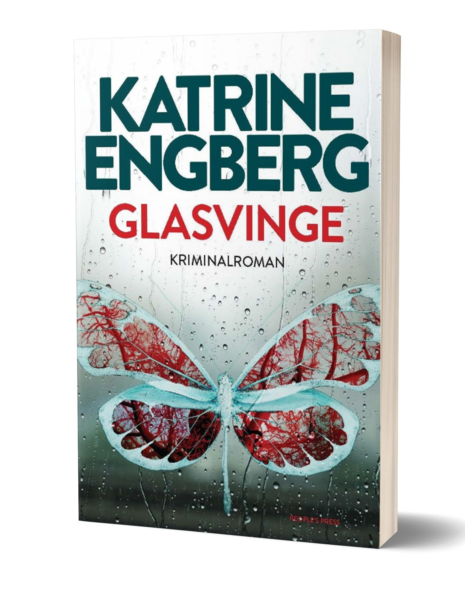 'Glasvinge' af Katrine Engberg