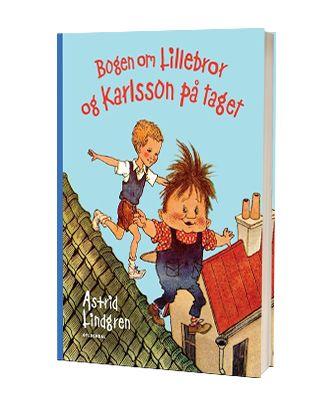 'Bogen om lillebror og Karlsson paa taget' af Astrid Lindgren