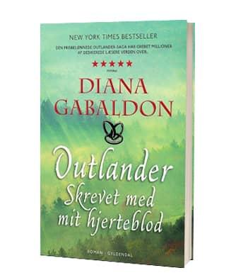 'Outlander: Skrevet med mit hjerteblod' af Diana Gabaldon
