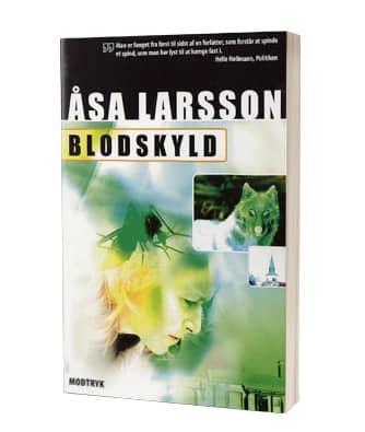'Blodskyld' af Åsa Larsson