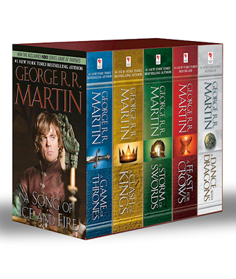 bogen 'A Game of Thrones 1-5 Boxed Set. TV Tie-In - Song of Ice and Fire Series' af George R R Martin