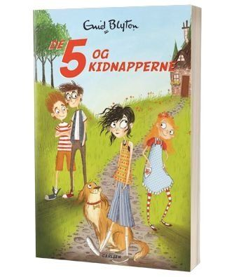 'De fem og kidnapperne' af Enid Blyton