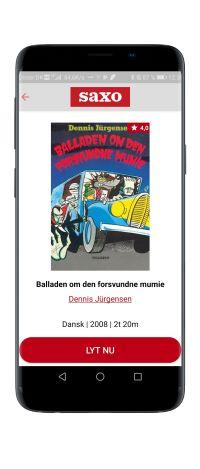 'Balladen om den forsvundne mumie' lydbog af Dennis Jurgensen