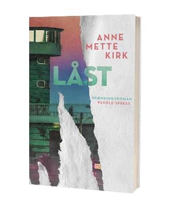 'Låst' af Anne Mette Kirk - 2. bog i serien