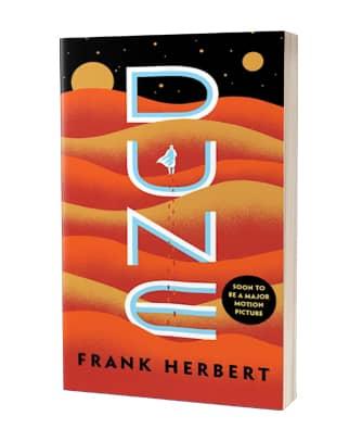 'Dune' af Frank Herbert - 25-års jubilæumsudgave på engelsk