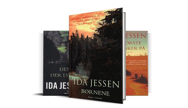 Ida Jessens oprindelige trilogi af Hvium-romaner
