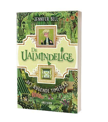 Bogen 'Det rygende timeglas' af Jennifer Bell