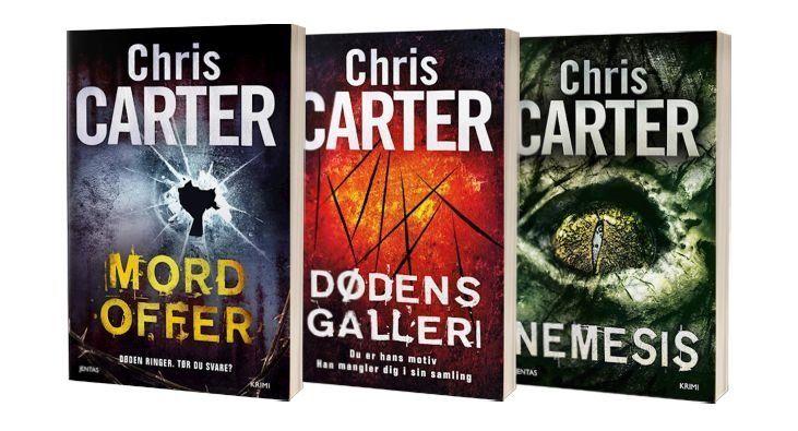 Chris Carters bøger