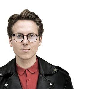 Thomas Korsgaard som månedens forfatter